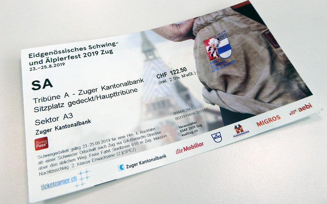 Tickets ESAF 2019