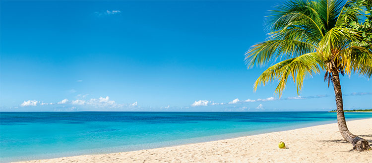 Ferientage Strandbild