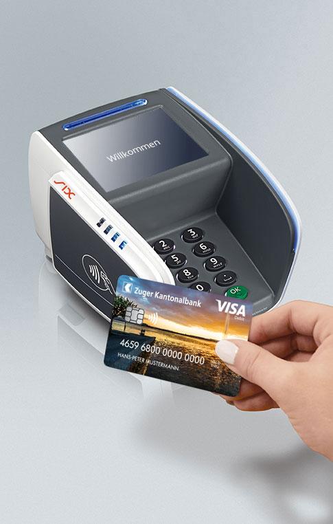 Maestro-Karte Kontaktlos bezahlen