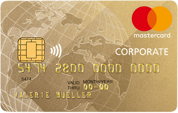 MasterCard Business Gold Karte