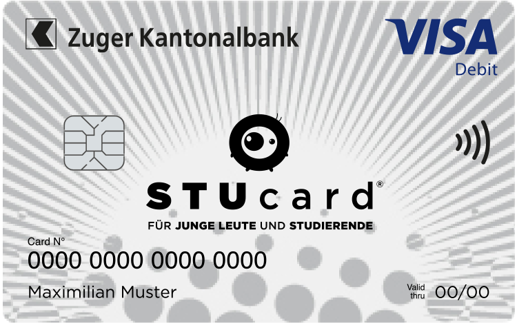 Maestro-Karte, Maestro-STUcard - Zuger Kantonalbank