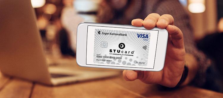 STUcard on Phone