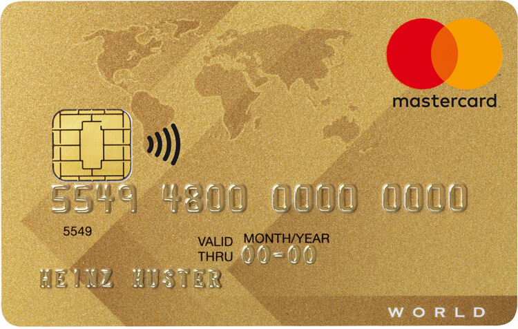 World MasterCard Gold International