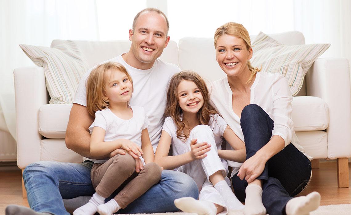 Familie und Eigenheim absichern